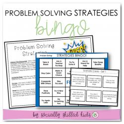 Problem Solving Strategies BINGO