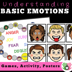 Basic Emotions || Games, Activity & Posters