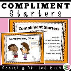 Compliment Starters | How To Give and Receive Compliments