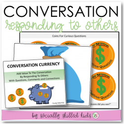 Conversation Activity And Visual Supports