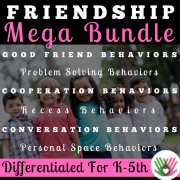 Friendship Behaviors MEGA Bundle