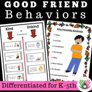 Friendship Activities: Is It...Kind or Unkind?