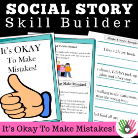 It's Okay To Make Mistakes || SOCIAL STORY SKILL BUILDER || For 3rd-5th