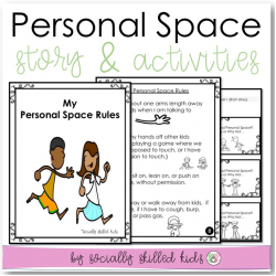 My Personal Space Rules | Social Skills Story and Activities | For K-2nd