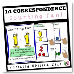 1 : 1 Correspondence {Number Identification and Counting}