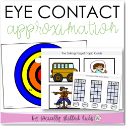 Eye Contact Approximation Activities and Visual Supports