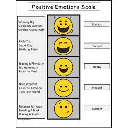 Positive Emotions Scale {FREEBIE}