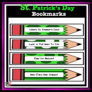 St. Patrick's Day Book Marks