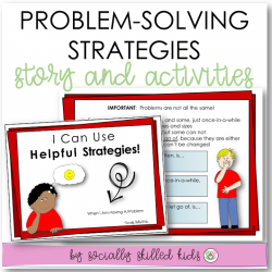 Strategies For Handling Problems || SOCIAL STORY SKILL BUILDER || K-5th