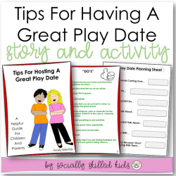 Tips For Having A Great Play Date || SOCIAL STORY SKILL BUILDER