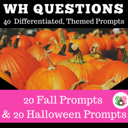 """Wh"" Question Prompts BUNDLE 