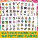 EASTER CARDS 1 : Spring Holiday Icons Religious Pictures Christianity PCS Set