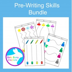 Pre-Writing Pencil Drawing Fine Motor Skills Discounted bundle