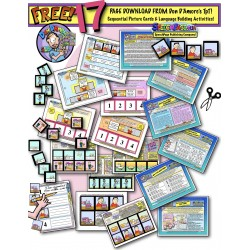 *FREE* SEQUENTIAL PICTURE CARDS And LANGUAGE LEARNING USAGE IDEAS!