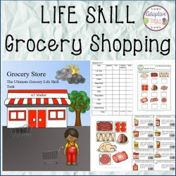 Life Skill Grocery Shopping