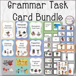 English Language Arts Task Cards