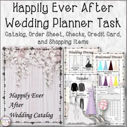 Happily Ever After Wedding Planner Task