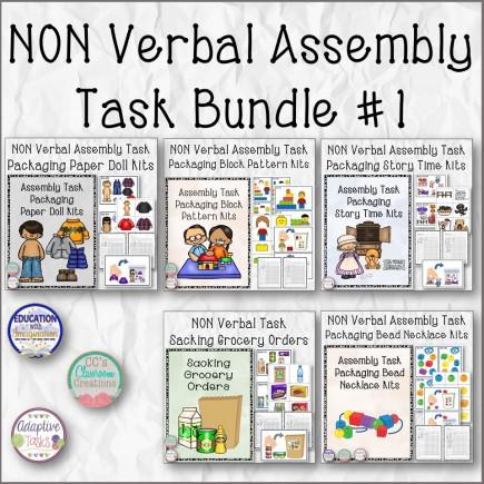 Nonverbal Assembly Task Bundle #1