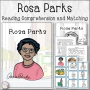 Rosa Parks reading Comprehension and Matching