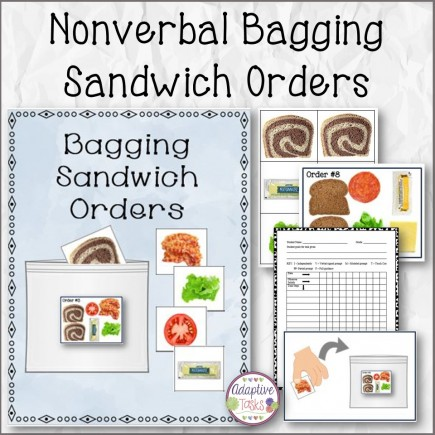 Nonverbal Bagging Sandwich Orders