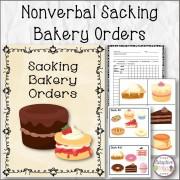 Nonverbal Sacking Bakery Orders