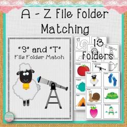 A-Z File Folder Matching