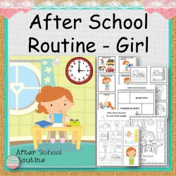 Girl After School Routine