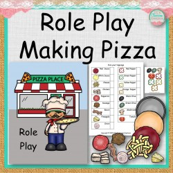 Role Play Making Pizza