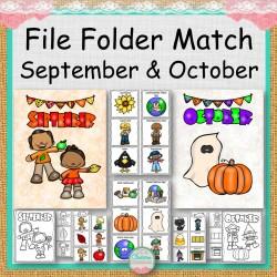 File Folders September and October