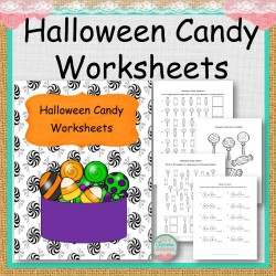 Halloween Candy Math Worksheets