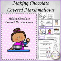 Making Chocolate Covered Marshmallows
