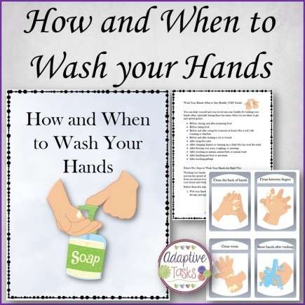 FREE How and When to Wash Hands