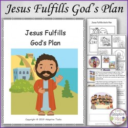 Easter Story - Jesus Fulfills God's Plan