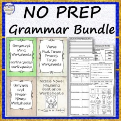 NO PREP Grammar Bundle