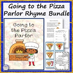 Going to the Pizza Parlor Rhyme Bundle