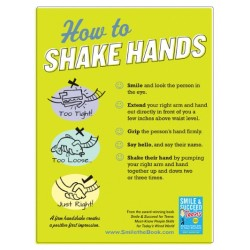 How to Shake Hands Poster