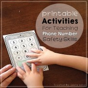 Safety: Phone Skills and Phone Numbers