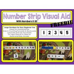 Number Line Visual Aid