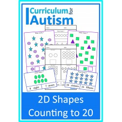 2D Shapes Count to 20
