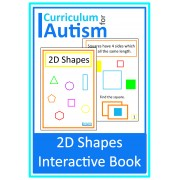 2D Shapes Interactive Book
