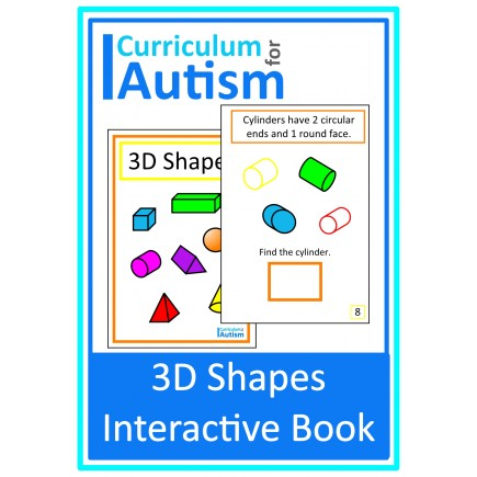 3D Shapes Interactive Book