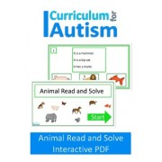 Animal Read & Solve NO PRINT Paperless Digital Activity