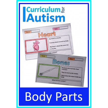 Body Parts Color & Learn Science Notes