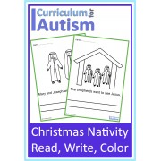 Christmas Nativity Coloring