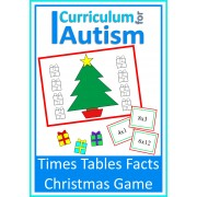 Christmas Times Tables Facts Game
