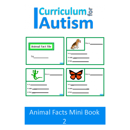 Animal Fact File Mini Book Set 2