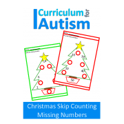 Christmas Skip Counting Times Tables Missing Numbers No Prep Worksheets