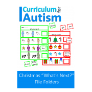 "Christmas ""What's Next?"" File Folder"
