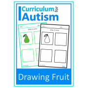 Fruit Drawing Skills Sheets