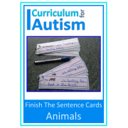 Writing Sentences Write & Wipe Cards